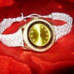 Макраме-браслет на часы